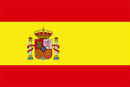 Spaniens flagga, flaggor
