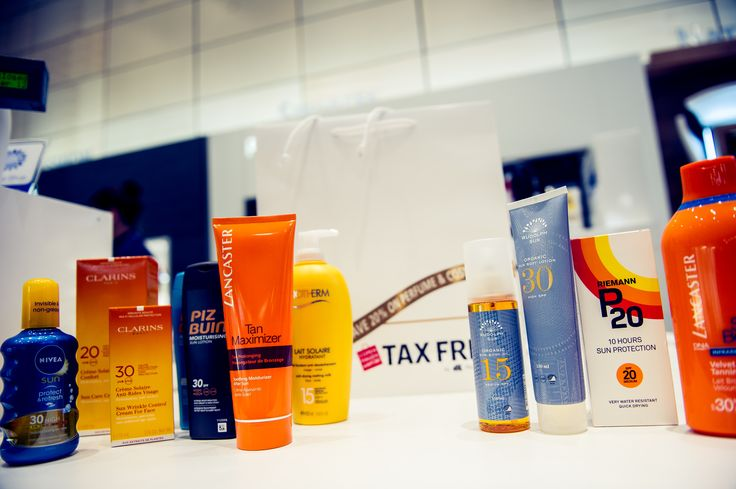 Wherever you go, remember sunscreen. Tax Free at Copenhagen Airport has a great selection of both the classics and new natural alternatives.