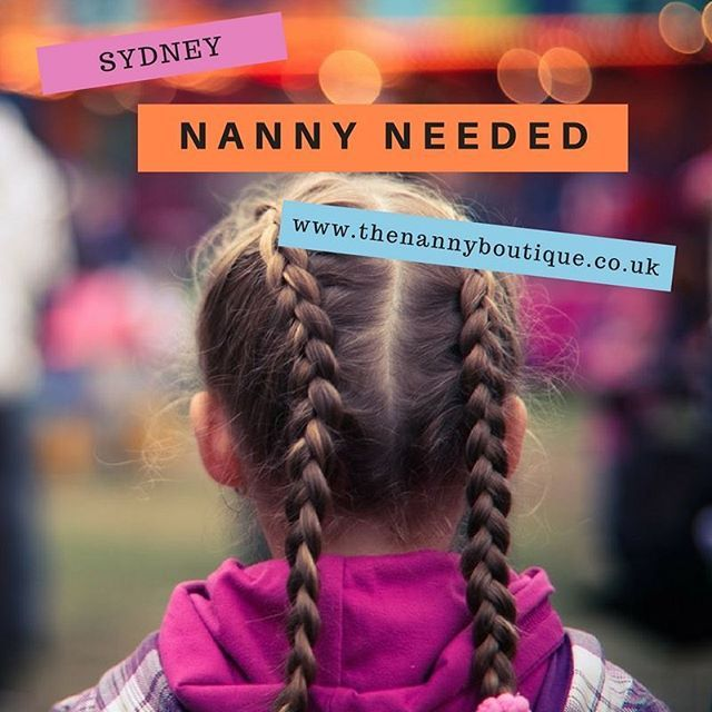 We currently have 2 #nanny vacancies with families in #Sydney. Visit our website for more information.