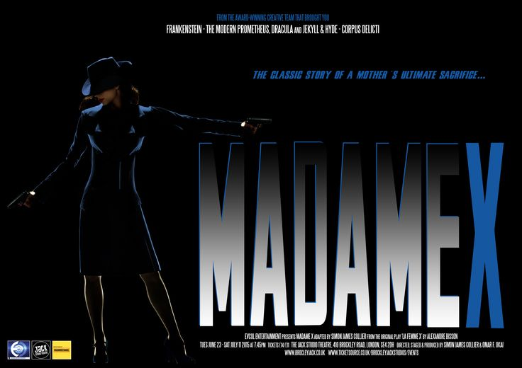 Madame X / Jack Studio Theatre / June - July 2015