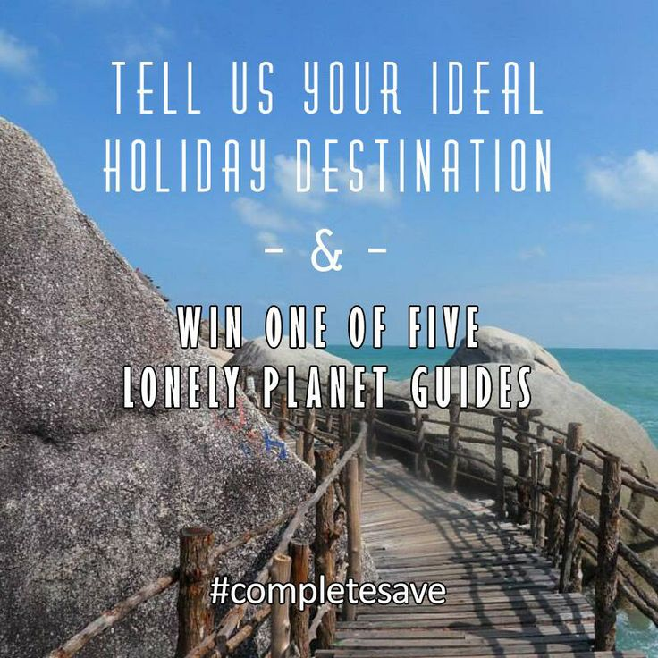 Complete Savings competition! Your chance to win 1 of 5 Lonely Planet guides, to a destination of your choice! #travel #completesave http://www.completesavingsblog.co.uk/2014/05/complete-savings-competition-lonely-planet-guides/