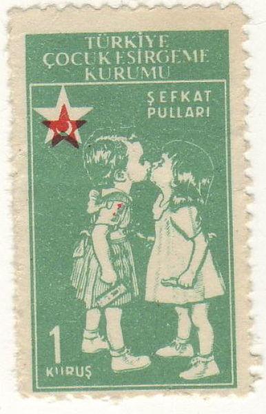 """Türkiye Çocuk esirgeme kurumu """"Şefkat pulları"""""""