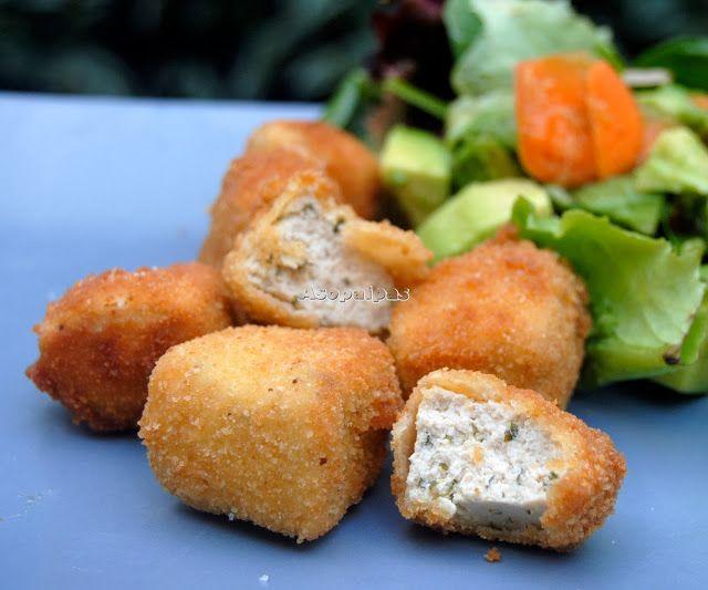 Asopaipas. Recetas de Cocina Casera .: Tofu Rebozado