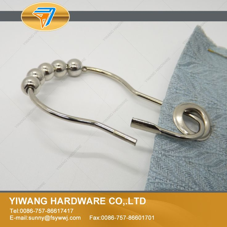 10 years manufacturer direct wholesale stainless steel shower curtain ring with easy glide rollers