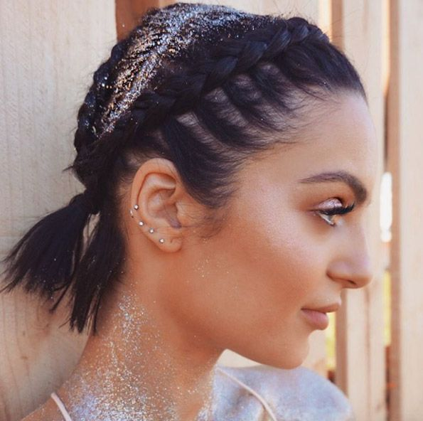 40 Cute and Clever Updos for Short Hair This Summer
