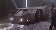 Aliens (film) - The APC (armored personnel carrier) was built upon the chassis of a Hunslet ATT 77 Aircraft Towing Tractor.  Incase you wanted to build your own replica, you know where to start, go find an old ATT 77 Aircraft Towing Tractor.
