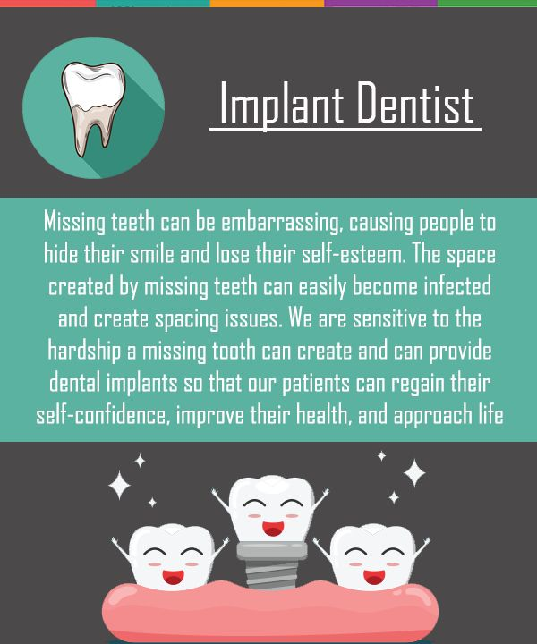 We are sensitive to the hardships a missing tooth can create and can provide dental implants so that our patients can regain their self-confidence, improve their health, and approach life boldly. #Dentist #Implants #MissingTeeth #DentalRestoration