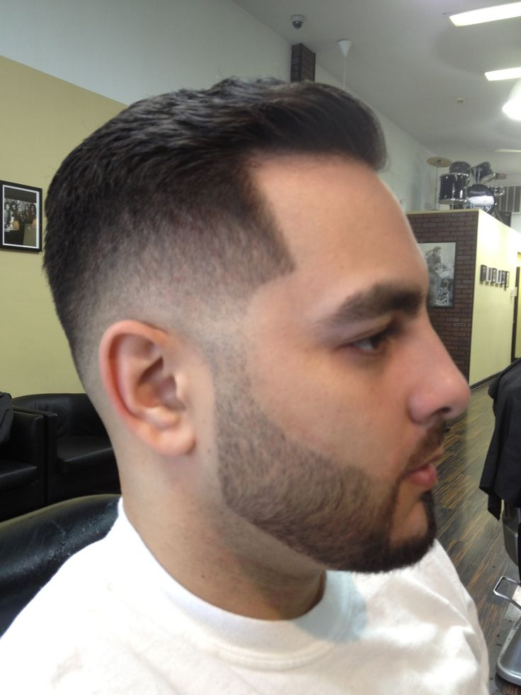 Low Fade Haircut With Part Hairs Picture Gallery