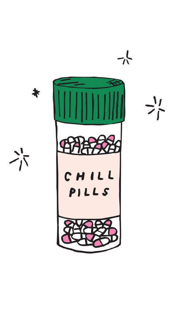 Chill Pills iPhone 6 wallpaper