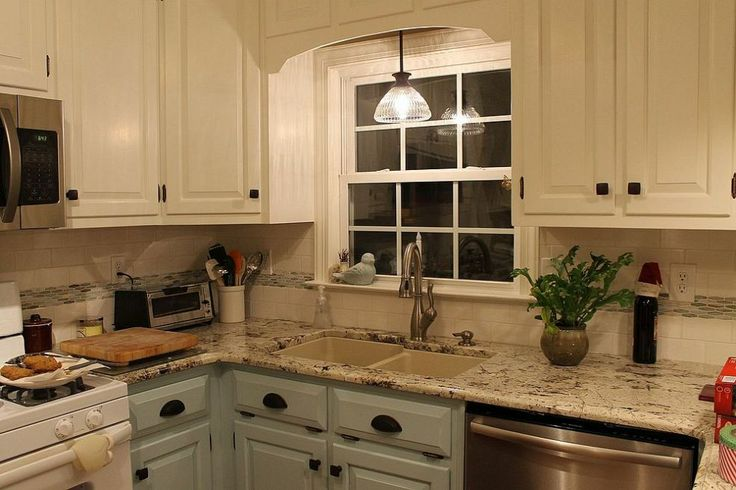 Watch how this kitchen was renovated from country to cottage style.