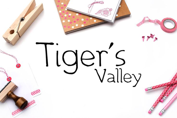 Tiger's Valley Handwritten Calligraphy Font Download Modern Digital Typeface