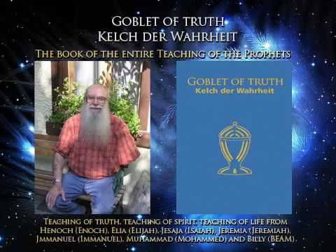Billy Meier - Goblet of Truth 1/74 To me, this is THE most important book to study for all mankind. Here it is in video format, read by a computerized voice, but very worth the listen. :-) Some of you will be curious, some of you will be drawn to it, and some of you will ignore it, still, if you can make some time for it, I feel you will not regret it. Thank you. :-)
