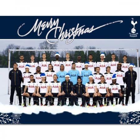 Spurs 2016 Team Christmas Card   Spurs Shop: Tottenham Hotspur Shop
