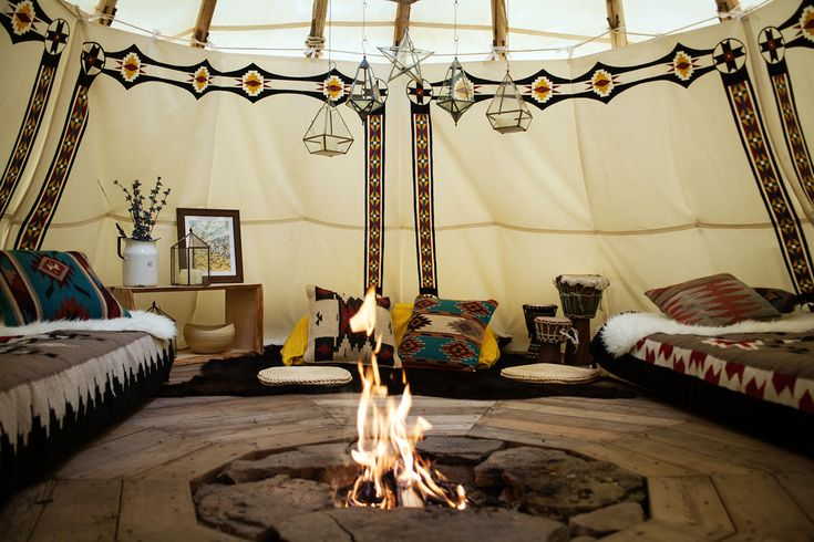 Can you believe this #NativeAmerican #Tipi is located in #NEWYORK !? http://bit.ly/28Q0rc4 #glamping #travel #bestvacations