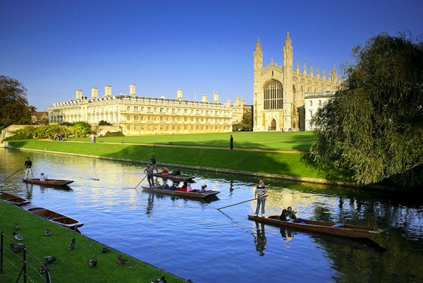 Cambridge, England, is a wonderful pastoral country town with abundant history, arts, culture, and activities for a must-stop visit on your next trip to Europe.