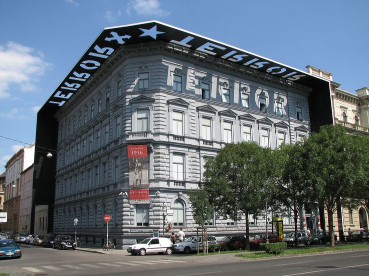 House of Terror in Budapest. Look at the architecture!
