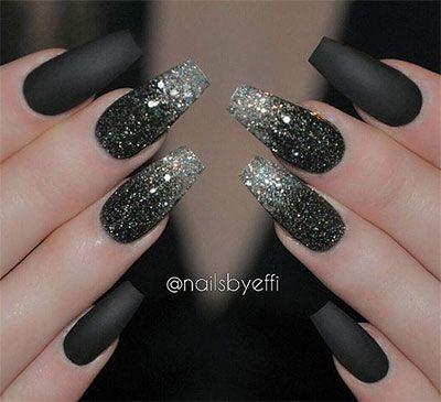 Vestito nero e argento marble