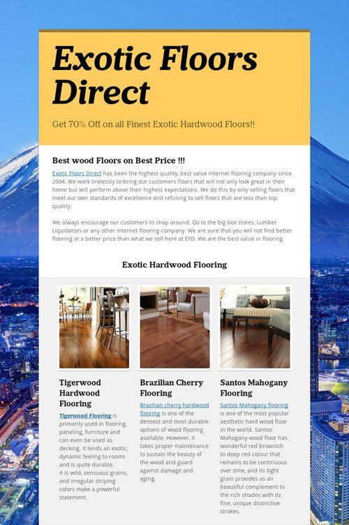 Exotic Floors Direct| Tigerwood Flooring | Hardwood Floorig