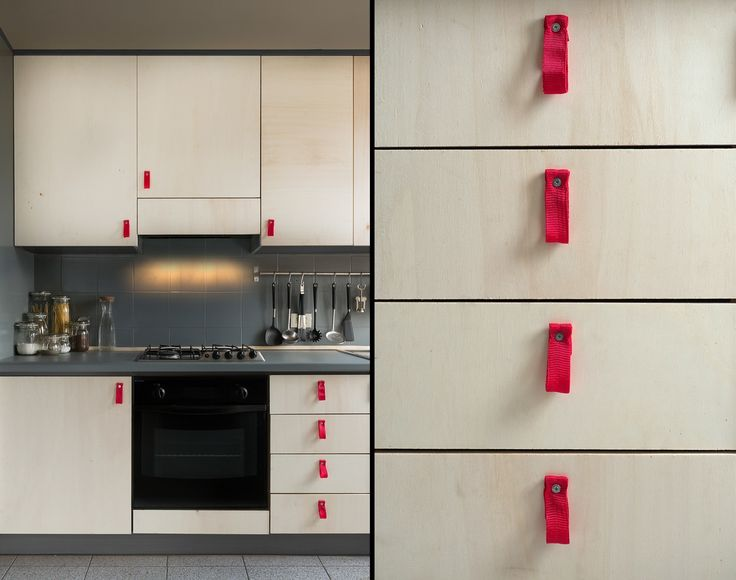Plywood Kitchen Riccardo Randi : Armadietti & Scaffali di Riccardo Randi