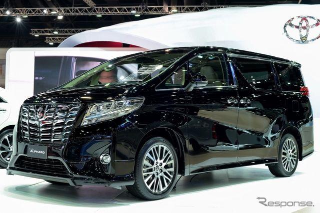 【バンコクモーターショー15】トヨタ アルファード/ヴェルファイア 新型、タイ初公開…日本仕様と微妙に違う | st3 | GAZOO.com