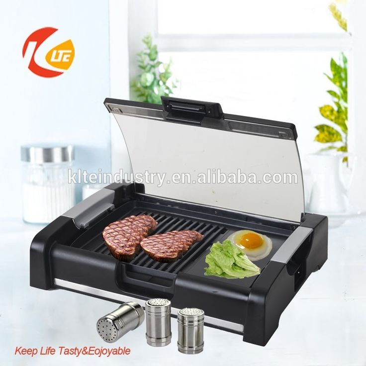Electric tabletop barbecue grill machine