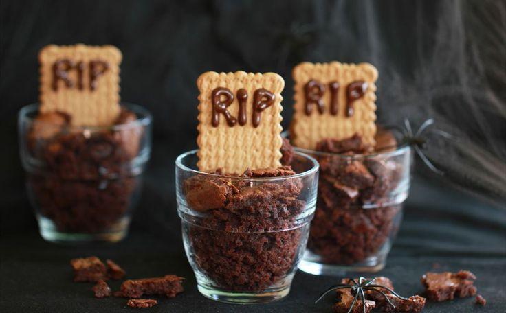"""""""Brownie Para Halloween"""" en Nestlé Cocina #recetas #nestlecocina #menuplanner #cocina"""
