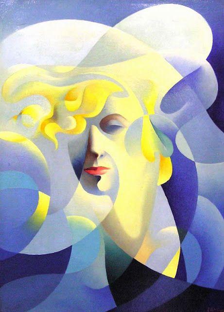 Italian Futurist,Tullio Crali, Ballelica, 1932