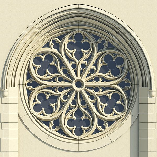Gothic Rose Window Tracery on Behance                                                                                                                                                                                 More