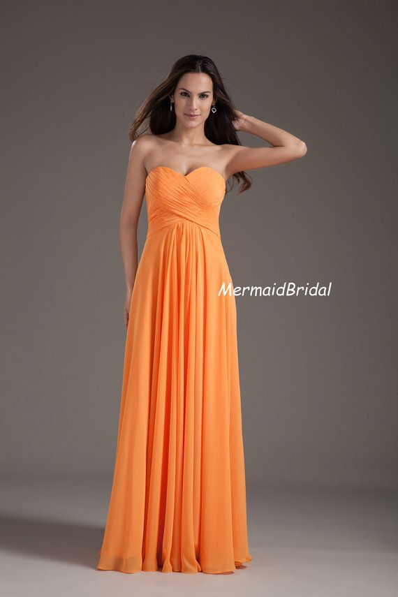 Chiffon Bridemaid dress