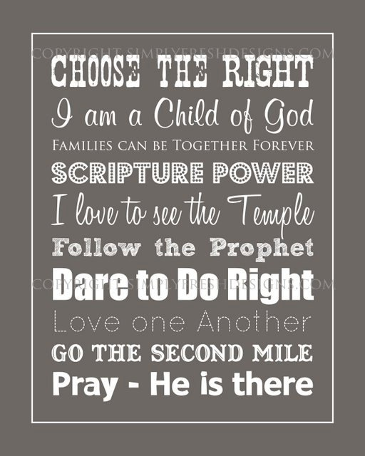 Lds Quotes On Family Home Evening: 115 Best Images About LDS Primary Ideas On Pinterest