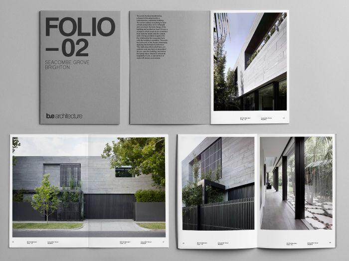 BE Architecture portfolio document by Latitude.