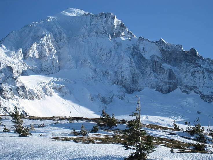 Mt Hood west face - wow.Hoods West, Magic Mountain, Mt Hoods, West Face