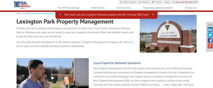 Property Management Lexington Park MD