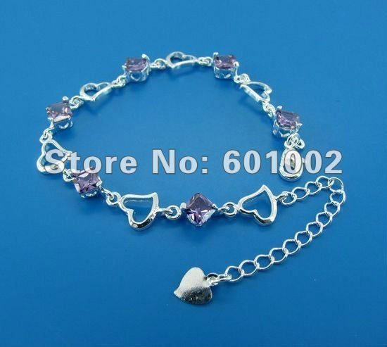 GY-PB216 Free Shipping Wholesale 925 silver Fashion Jewelry Bracelets, 925 Silver Bracelets bqpa khwa szfa US $3.06