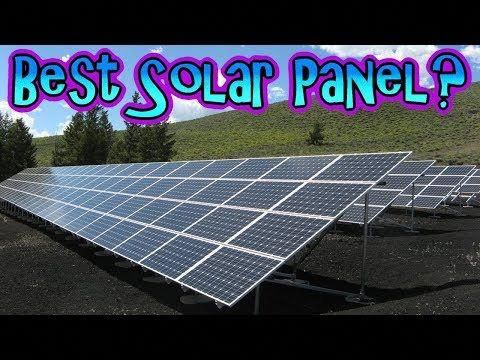 What Is The Best Solar Panel Manifest Opinion E009 Youtube Solarpanels Solarenergy Solarpower Solargenerator Solarpa In 2020 Best Solar Panels Solar Panels Solar