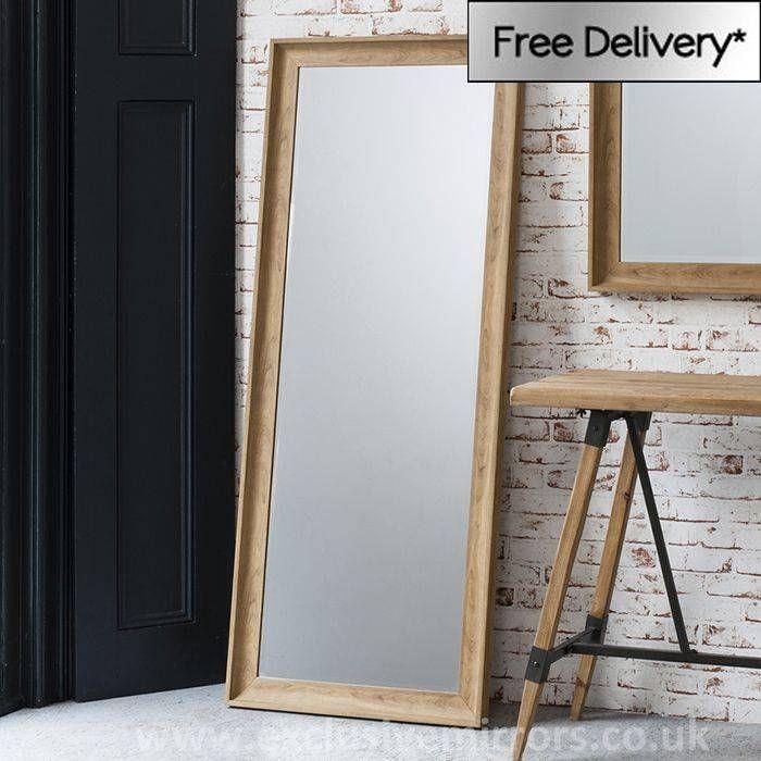 20 Sammlung Von Eiche Gerahmten Wand Spiegel Es Ist Oft Erfuhr Die Eiche Gerahmten Wand Spiegel Die Farben Beeinflussen Ih Leaner Mirror Floor Mirror Mirror