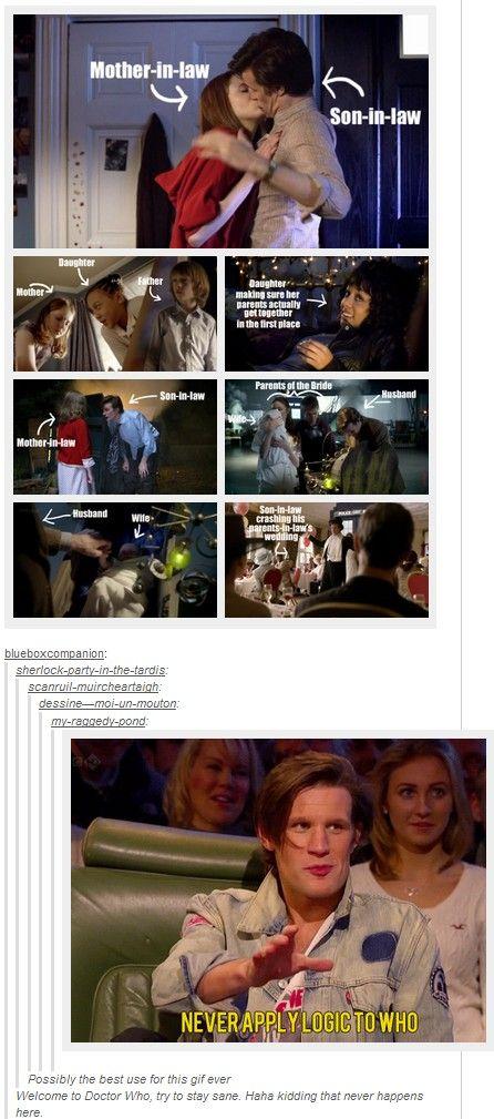 Never apply logic to Doctor Who. REPINNING just cause Sie inetessieren sich für den einzigartigen Gentleman Look? Schauen Sie im Blog vorbei www.thegentlemanclub.de