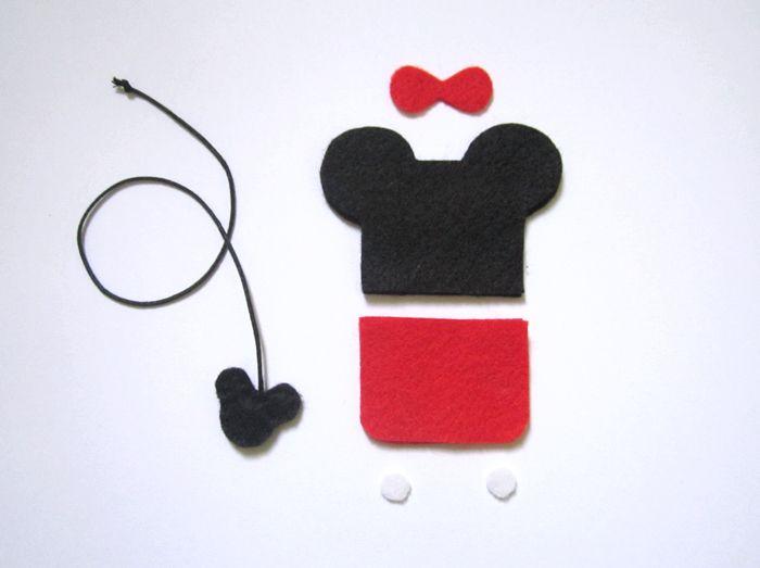 Marca páginas em feltro Mickey e Minnie!/ Felt bookmarks! #bookmark #felt #feltro #marcapaginas