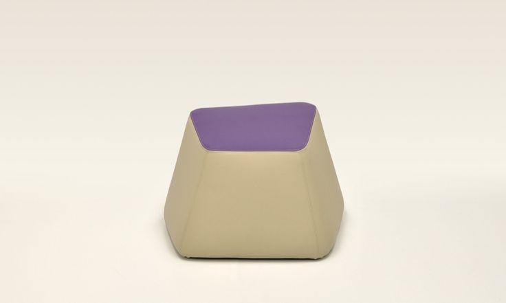 "Bon Bon footstool in the colours of nature and flowers, to match the ""naturalmentechic"" module for hospitality. Design: Daniele Menichini"