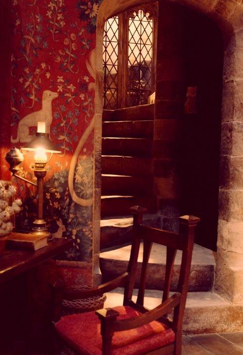 Gryffindor Common Room Hp Pinterest