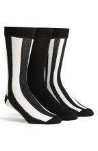 Topman Stripe Socks (3-Pack) gifters.com crazy socks ,crazy socks for men