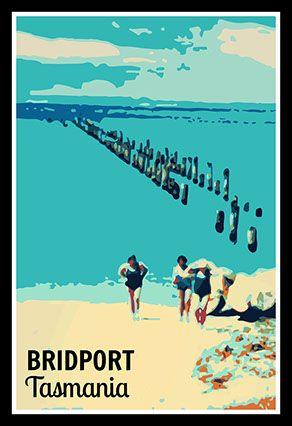 Bridport Tasmania Beach Poster