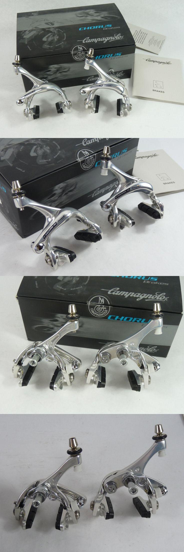 Vintage Bicycle Parts 56197: Campagnolo Chorus 10 Speed Brakeset Dual Pivot Brakes Record Set Nos BUY IT NOW ONLY: $139.99