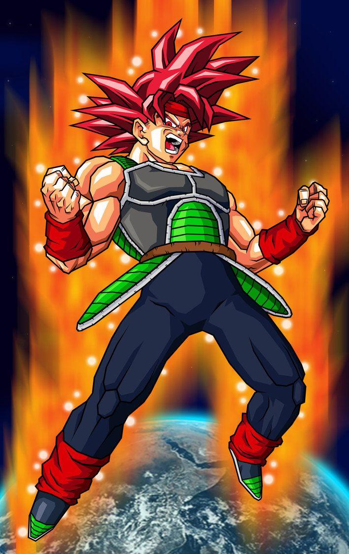 Bardock SSJ God. Looks like Goku