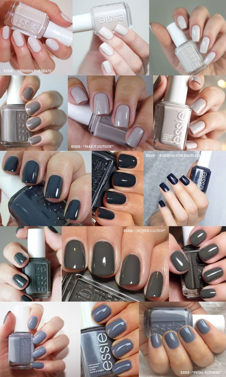 5 Neutral Nail Colors You Need This Fall Unas De Gel Bonitas