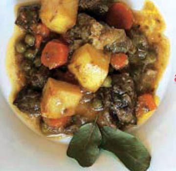 Estofado de aguja de ternera #cuisine #recipes