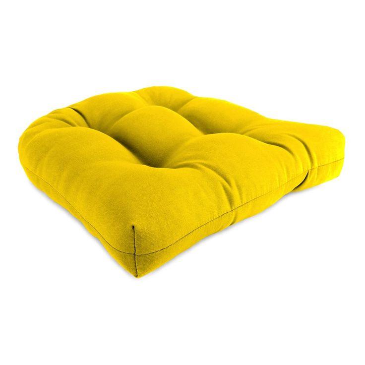 Jordan Manufacturing 9915PK1 2 Wicker Patio Seat Cushion