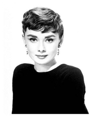 The inimitable Audrey Hepburn, with a side of Givenchy.