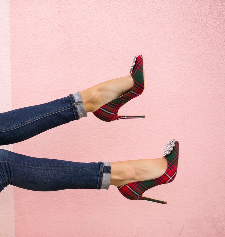 These pumps are definitely getting me in the holiday season!