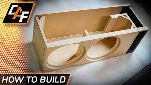 Image result for diy subwoofer box design